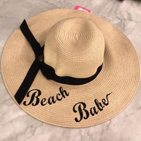 b9dce3a863a Betsey Johnson Beach Babe Sun Hat
